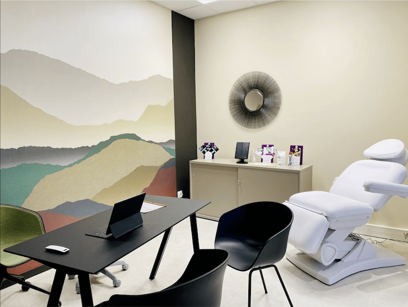Dermo Laser - Centre laser Lyon - salle de consultation